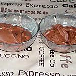 recette Mousse au chocolat praliné
