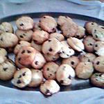 recette cookies citron vert pépites de chocolat!