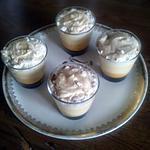 recette Verrines vanille caramel