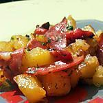 recette Poellé de pommes de terre à l'espagnole