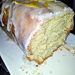 recette Cake au citron et son glaçage