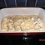 recette coeurs de palmier au saumon fumé et au chevrotin