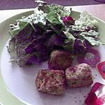 recette boulettes thon / ricotta
