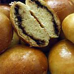 """recette """" Bollicaos de nutella""""...( Brioches au nutella...)"""