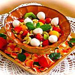 recette PETITE SALADE SUCREE SALEE