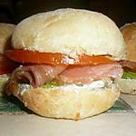recette Mini burger au saumon