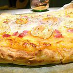recette Pizza anti-déprime... mais pas aniti-cholestérol ^^