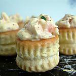 recette minis vol-au-vent au saumon (apéro en famille)