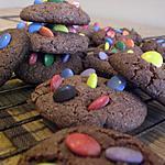recette Choco cookies aux mini Smarties
