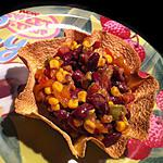 recette Tacos Salad Mexicaine !