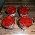 recette panna cotta à la cardamome et sa compote de fraises (recette de technomadgirl)