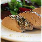 recette Filets de porc et salade de betteraves et de bleuets