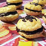 Macarons feuilleté au chocolat