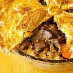 viande le paleron : recette Steak and Kidney Pie