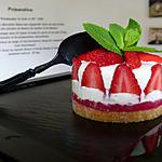 """Fraisier ou cheesecake ? ... Un """"Fraise-cake"""" !!!"""