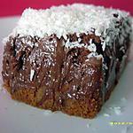 recette pavé croustillant de spéculos coco-choco