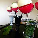 recette Sucettes fraises/chantilly