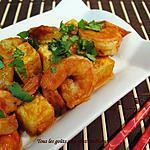recette Tofu et crevettes à la vietnamienne