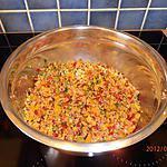 recette taboulé au trois poivrons