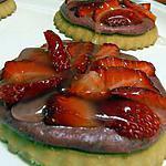 recette tartelettes à la fraise sans cuisson