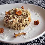 recette Crozets aux girolles façon risotto