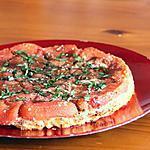 recette Tatin de tomates au chèvre & au basilic