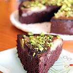 recette Fondant poire, chocolat & amande