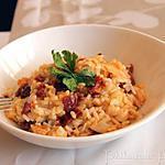recette Risotto au chorizo & au poulet