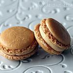 recette Macarons fourrés au caramel beurre salé de Pierre Hermé
