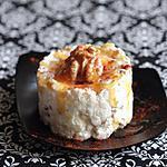 recette Mousse de fromage frais aux noix & au paprika