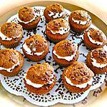 recette MUFFINS  NUTELLOISE  POUR LES FANS..