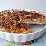 recette tarte salée surimi tomate