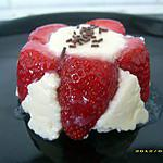 mon château de fraises sous la neige