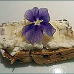 recette Idées toastées : Caprice du rucher