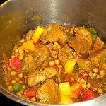 recette échines de porc aux pois chiches