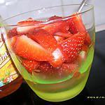 recette fraises au miel