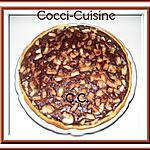Tarte à la poire et cacao