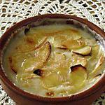 recette gratin de pommes au lait de coco