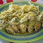 recette filet de poulet au bleu