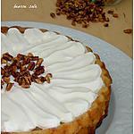 recette Tarte renversée à la poire et au caramel beurre salé
