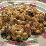 recette Macaroni aux 2 fromages et aux 2 viandes
