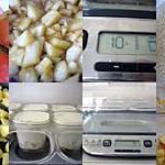 recette Yaourt pommes/cannelle