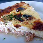 recette tarte au thon d'Isa