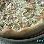 recette Pizza Chèvre Miel de Thym