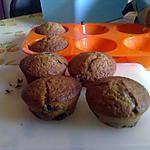 recette Muffins Brun Moelleux aux Pépites de Chocolat !!!