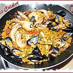 recette Paella au blé tendre