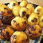 recette madeleines et muffins aux pépites de chocolat(recette de cyril lignac)