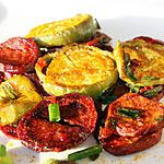 Patate douce et aubergine thaïe au four