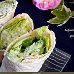 recette Wraps végétarien