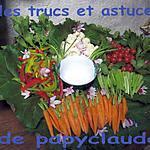 recette Trucs et astuces : les légumes.